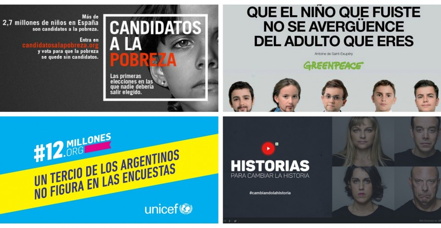 campañas, marketing, ONG, redes sociales