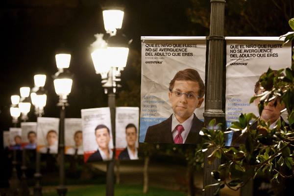 niños políticos, Greenpeace, campañas, ONG